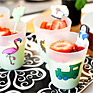 Recept på Avokadoyoghurt med skivade jordgubbar