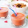 Recept på Jordgubb- och apelsinsmoothie