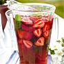 Iste på rooibos, mynta och jordgubbar