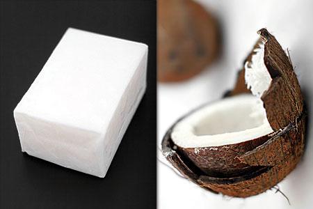 Kokosfett/-smör och kokosnöt