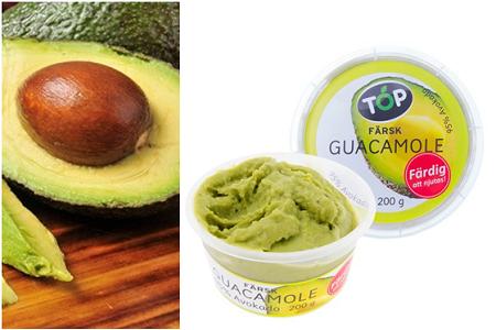 Färdig guacamole