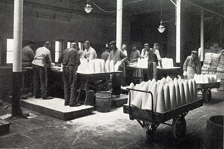 Sockertoppstillverkning