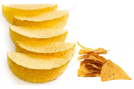Nachochips med guacamole (klicka för större bild)