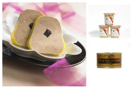 Block de Foie Gras de Canard Truffé (pris ca 1100 kr/kg)