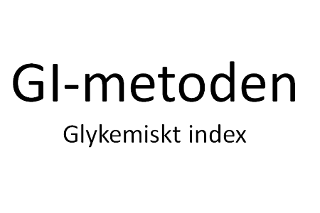 GI-glykemiskt index