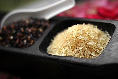 Långkornigt parboiled ris