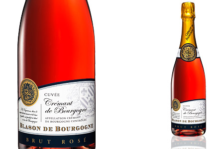 Blason de Bourgogne Crémant de Bourgogne Rosé Brut