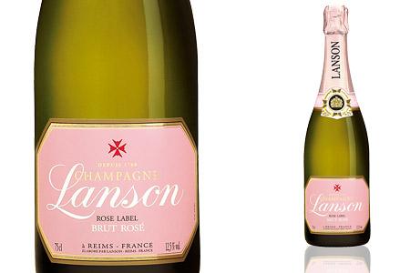 Lanson Rosé Label