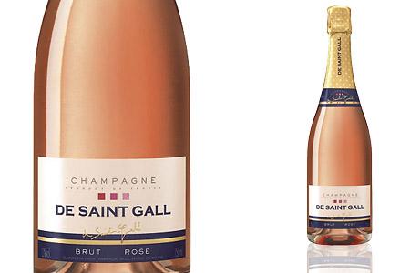 De Saint Gall Brut Rosé