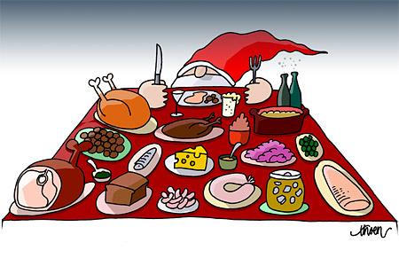 Kaloriberäknad julmat