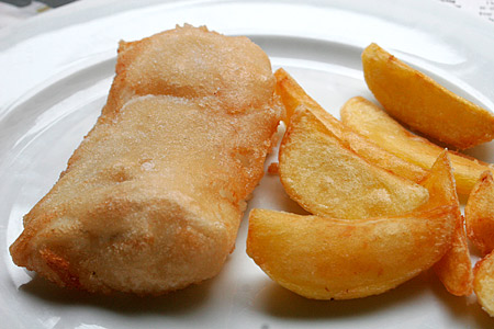 Friterad Fish (& Chips)