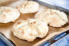 Så bakas bröd med bakpulver