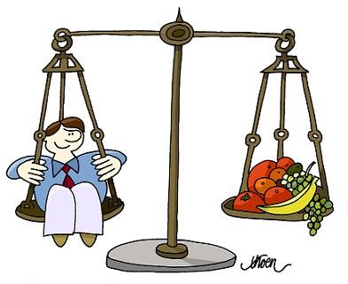 Böcker om hälsa & vikt