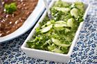 Marinera och lägga in grönsaker
