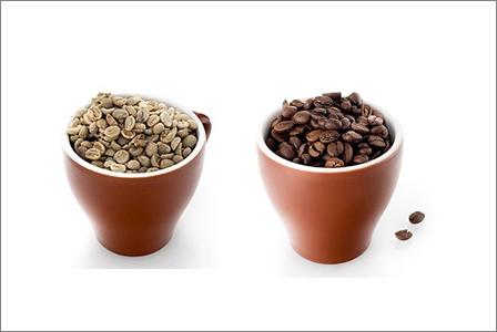 Orostat och rostat kaffe
