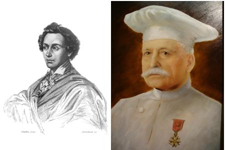 Marie Antoine Carême & Auguste Escoffier