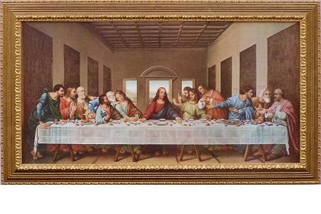Jesu sista måltid av Leonardo da Vinci