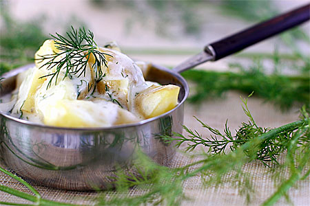 Stuvad potatis