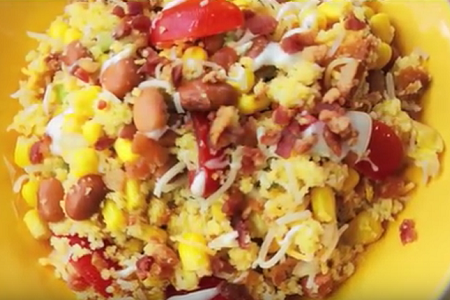 Om cornbread salad
