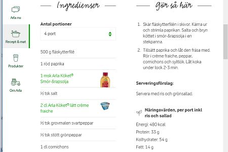 Andras recept