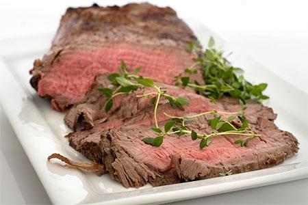 Tillagning bindvävsrikt kött