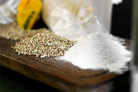 Bovete - gryn och mjöl (klicka för större bild)