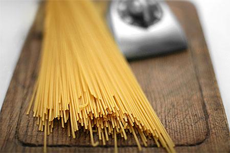Spagetti, linguine