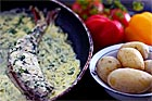 Skärvassaabborre i gräddsås - recept
