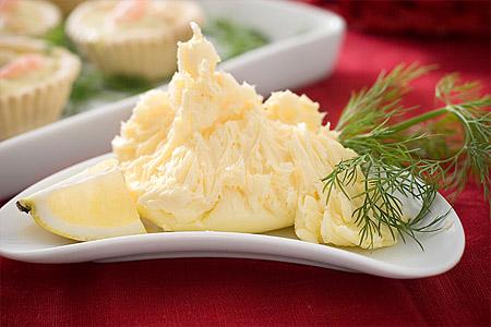 Rört smör,  beurre pommade