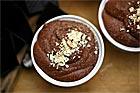 Chokladmousse, mokkamousse med crème Chantilly - recept