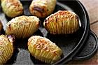 Bakad hasselbackspotatis (Pommes-de-terre Suédoise) - recept
