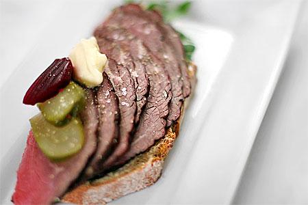 Köttsmörgås helt enkelt