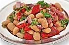 Habas tiernas - Bondbönor med skinka (tapas) - recept