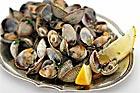 Almejas a la marinera - hjärtmusslor i vin (tapas) - recept