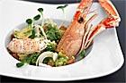 Avokadosallad med havskräftor (förrätt) - recept