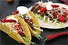 Taco med köttfärs i tacoskal - recept