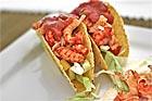 Tacos med kräftor och exotiska frukter - recept
