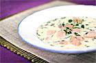 Sofias gräddiga laxsoppa - recept