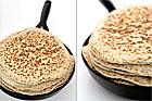 Tjocka tunnbröd bakat i stekpanna - recept