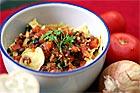 Tomatröra eller sås med basilika och koriander - recept