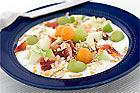 Yoghurt med müsli och färsk frukt - recept