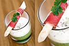 Sparrisduo med lufttorkad skinka (förrätt) - recept