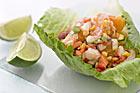 Ceviche med fisk och skaldjur - recept