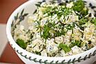 Klassisk potatissallad med purjolök - recept