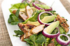 Sallad med limemarinerad kyckling - recept