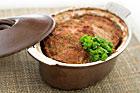 Pastejig köttfärslimpa med svamp - recept