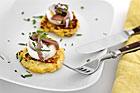 Potatiskaka med ägg och ansjovis (plockmat) - recept