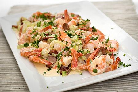 Arcadian shrimps