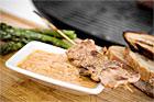 Hemlagad sataysås, mild asiatisk jordnötssås - recept