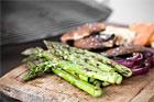 Grillade grönsaker, grillad svamp - recept